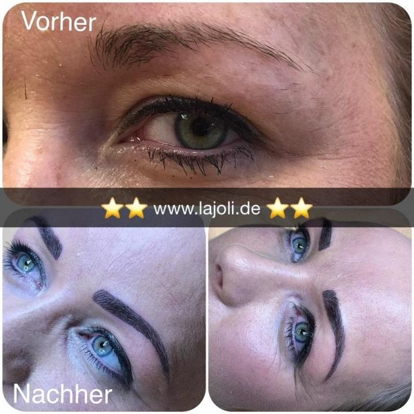 LAJOLI Augenbrauen Permanent Make-Up Bilder Hamburg - Frau Leja - Top-Elite Profi Studio - www.lajoli.de