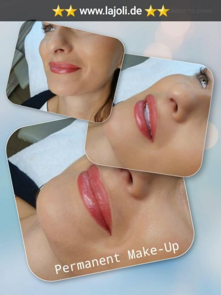 Lippen Permanent Make-Up Bilder von LAJOLI Profi Manuela Leja - Lips Hamburg