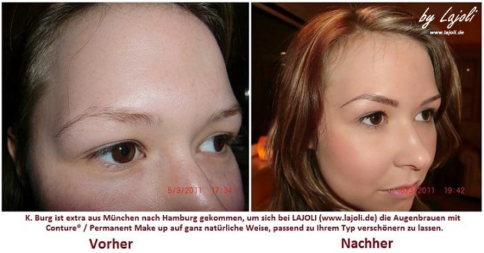 LAJOLI Permanent Make Up / Kosmetik Hamburg