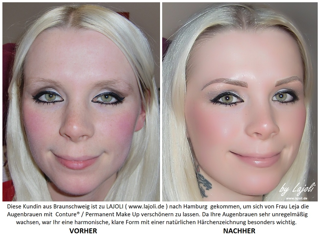 stars mit permanent make up