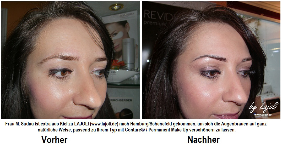 LAJOLI Permanent Make-Up Augenbrauen - Bilder