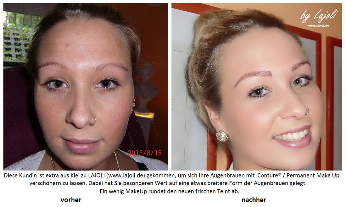 LAJOLI Permanent Make-Up Bilder Augenbrauen - Hamburg - www.lajoli.de