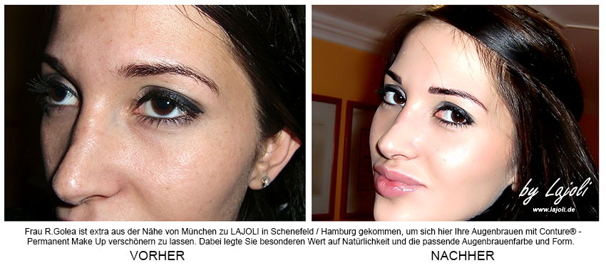 LAJOLI Permanent Make-Up / Kosmetik Hamburg/Schenefeld - Augenbrauen