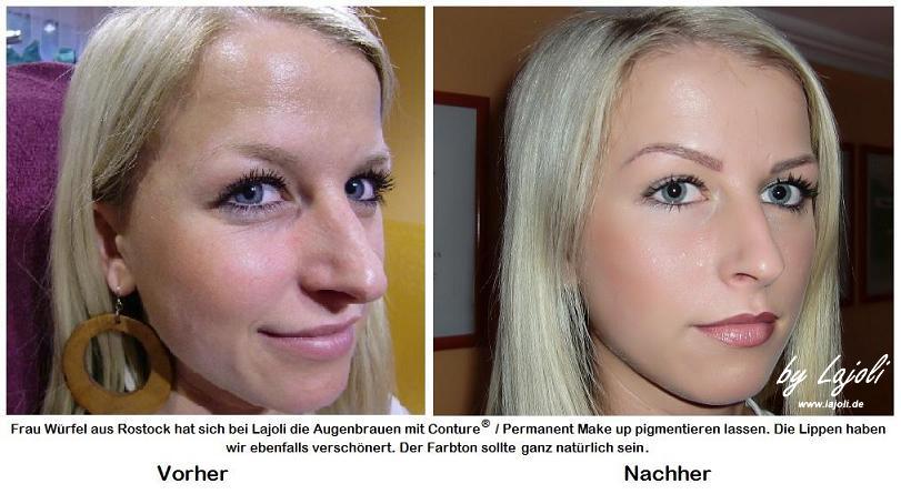 LAJOLI Permanent Make-Up / Kosmetik Hamburg/Schenefeld - Augenbrauen/Lippen