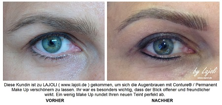LAJOLI Augenbrauen Permanent Make-Up Bilder