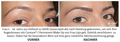 LAJOLI Bilder Permanent Make-Up Augenbrauen - Hamburg/Schenefeld