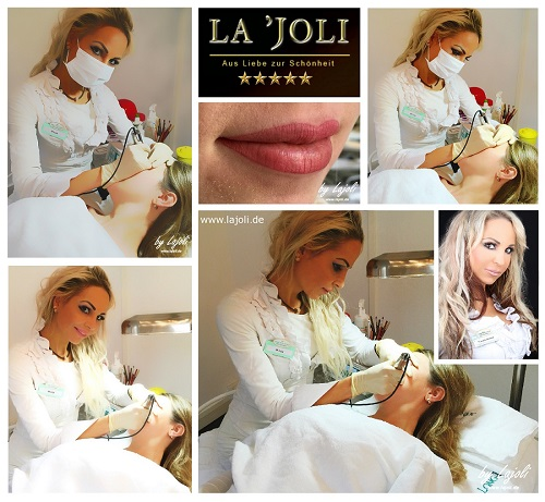 LAJOLI Lidstrich Permanent Make-Up Bilder